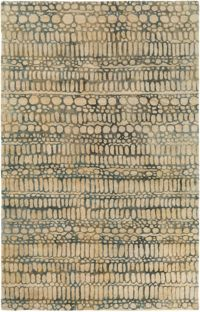 Surya Natural Affinity Pebbles 8' x 10' Area Rug in Butter