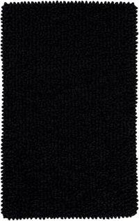 Surya Nestle Shag 4' x 6' Area Rug in Black