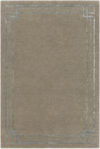 Surya Intermezzo Modern 2' x 3' Accent Rug in Medium Grey