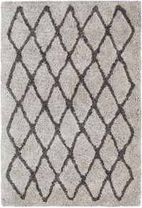 Surya Koryak Global 8' x 10' Hand-Tufted Area Rug in Grey/Black