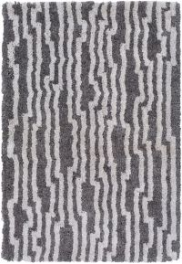 Surya Koryak Geometric 8' x 10' Hand-Tufted Area Rug in Ivory