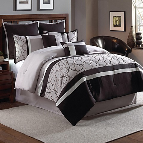 Bedroom Sets Bed Bath And Beyond blakely 8-piece decorative bedding set - bed bath & beyond