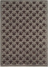 Surya Basilica Geometric 7'6 x 10'6 Area Rug in Brown/Grey