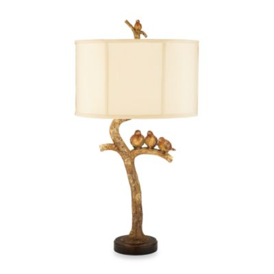 Dimond Lighting Sterling Country Collection Three Bird Table Lamp