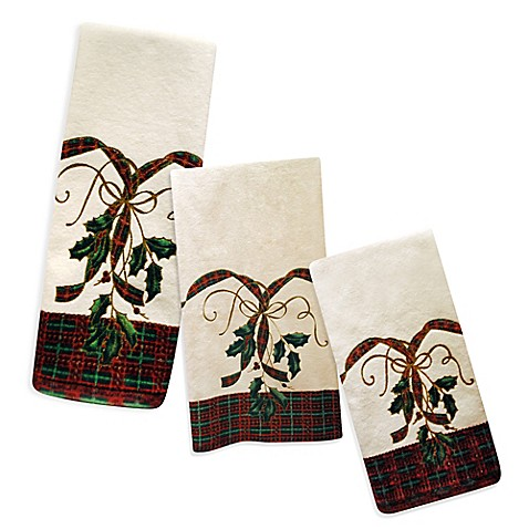 Lenox 174 Holiday Nouveau Bath Towels 100 Cotton Bed Bath