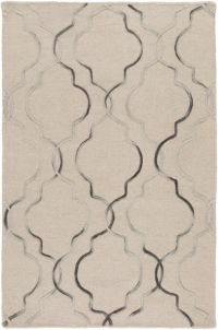 Surya Seabrook 2' x 3' Hand-Woven Area Rug in Khaki/Black
