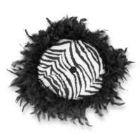Roxanna 13-Inch Round Throw Pillow