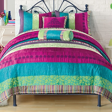 Kamille comforter set bed bath beyond - Bed bath and beyond bedroom furniture ...