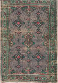 Surya Shadi 2' x 3' Accent Rug in Emerald/Khaki