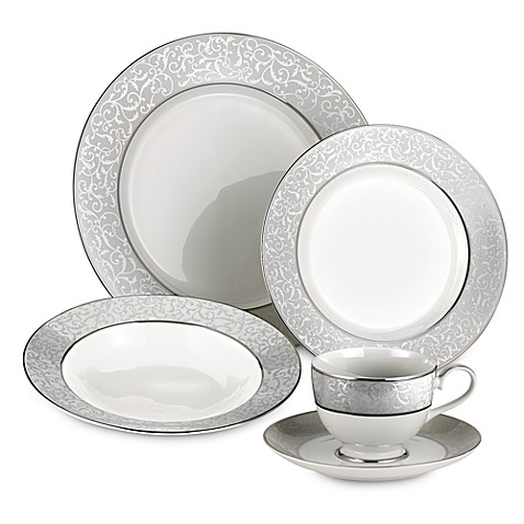 Mikasa parchment dinnerware bed bath beyond for Mikasa china