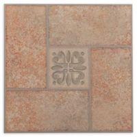 Achim Nexus 20-Pack 12-Inch Terracotta Motif Floor Tiles