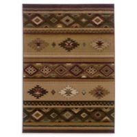 Oriental Weavers Genesis 7'10 x 11' Area Rug in Beige