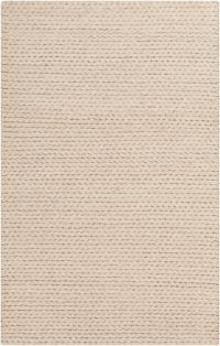 Surya Yukon Solids and Tonals 5' x 7'6 Area Rug in Beige