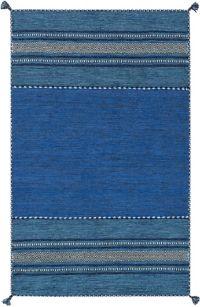 Surya Trenza 2' x 3' Accent Rug in Navy/Dark Blue