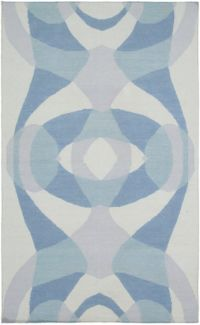 Surya Taurus One Modern 5' x 7'6 Hand-Woven Area Rug in Silver