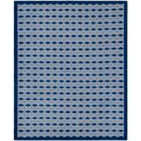 Surya Agostina Geometric 8' x 10' Area Rug in Dark Blue
