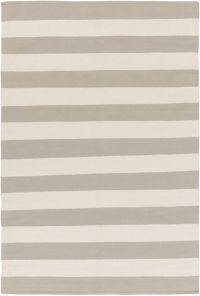 Surya City Park 4' x 6' Handcrafted Area Rug in Sage/Ivory