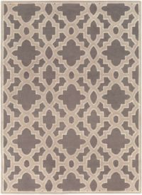 Surya Modern Classics Moroccan Trellis 8' x 11' Area Rug in Cream/Grey
