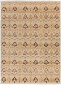 Surya Cambridge Medallion 8'6 x 11'6 Hand Knotted Area Rug in Ivory/Tan