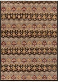 Surya Cambridge Medallion 8'6 x 11'6 Hand Knotted Area Rug in Medium Grey