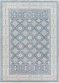 Surya Cappadocia Vintage-Inspired 8' x 11' Area Rug in Navy/Grey