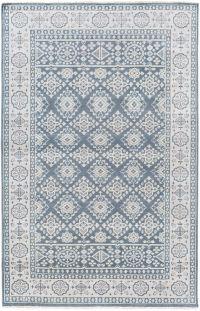 Surya Cappadocia Vintage-Inspired 9' x 13' Area Rug in Navy/Grey
