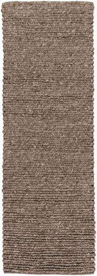 Surya Desoto 2'6 x 8' Hand-Woven Runner in Brown