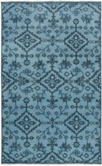 Surya Cappadocia Vintage-Inspired 2' x 3' Accent Rug in Denim/Navy