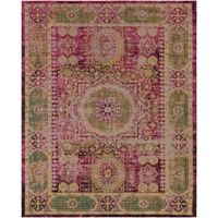 Surya Amsterdam 8' x 10' Handwoven Area Rug in Classic Bright Pink