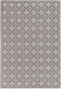 Surya D'Orsay Diamond 2' x 3' Accent Rug in Charcoal