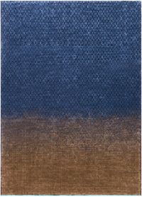 Surya DipGeo by Ted Baker 8'2 x 7'9 Area Rug in Tan/Navy