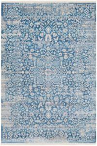 Surya Ephesians Vintage 3' 11 x 5' 7 Area Rug in Sky Blue