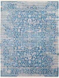Surya Ephesians Vintage 7' 10 x 10' 3 Area Rug in Sky Blue