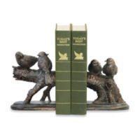 Sterling Home Continuing Branch Resting Finch Bookends