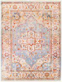 Surya Ephesians Vintage 7' 10 x 10' 3 Area Rug in Orange/Grey