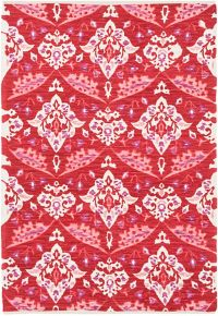 Surya Elaine Global Medallions 8' x 11' Area Rug in Red