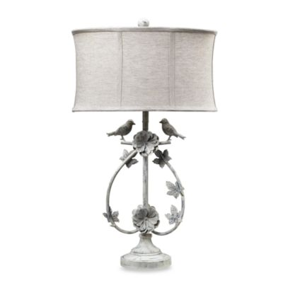 Buy bird lamps from bed bath beyond dimond lighting two birds iron table lamp mozeypictures Images