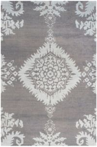 Safavieh Stone Washed Kay 6' x 9' Hand-Knotted Area Rug in Grey