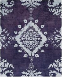 Safavieh Stone Washed Kay 8' x 10' Hand-Knotted Area Rug in Deep Purple