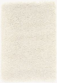 Surya Goddess 2' x 3' Hand-Loomed Shag Area Rug in Cream