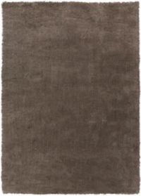 Surya Heaven 8' x 11' Hand Knotted Shag Area Rug in Medium Grey