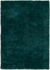 Surya Heaven 9' x 13' Hand Knotted Shag Round Area Rug in Teal