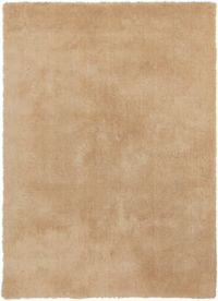 Surya Heaven 9' x 13' Hand Knotted Shag Round Area Rug in Butter