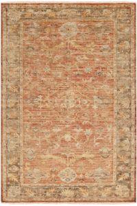 Surya Hillcrest 10' x 14' Area Rug in Tan/Dark Brown