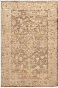 Surya Hillcrest 7'9 x 9'9 Area Rug in Cream/Taupe