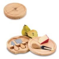 Picnic Time® Carolina Panthers Brie Cheese Board Set