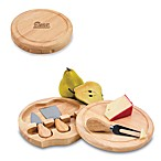 Picnic Time® New England Patriots Brie Cheese Board Set