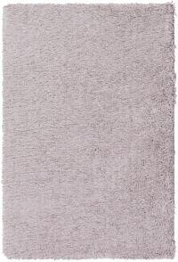 Surya Glamour Shag 2' x 3' Accent Rug in Light Grey