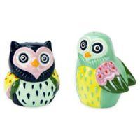 Artsy Owl Salt and Pepper Shakers