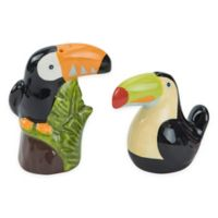 Tropical Toucan Salt and Pepper Shakers